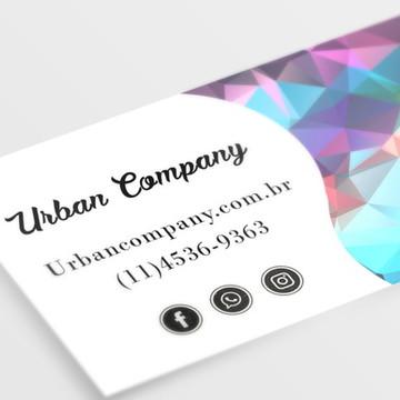 Arte Digital Personalizada para Cartão de Visita Diversos