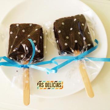 Brownie no Palito