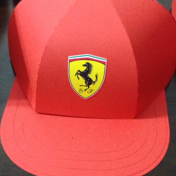 Caixa boné Ferrari