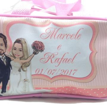Bolsinha lembrancinha personalizadas para casamento