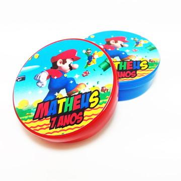 Latinha Super Mario Bros