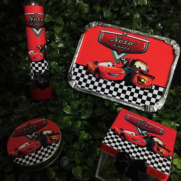Kit 80 Lembrancinhas carros Disney
