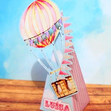 Caixinha balão Parque de diversões