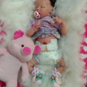 Bebe Reborn Princess + Placa de barriga