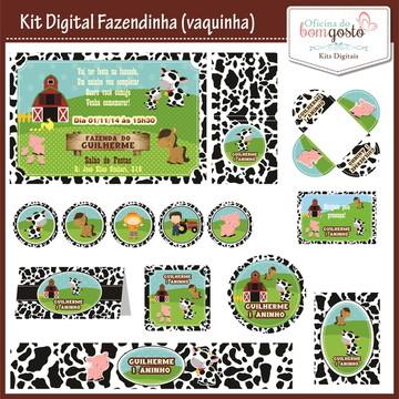 Kit Festa Digital (10 artes) Fazendinha