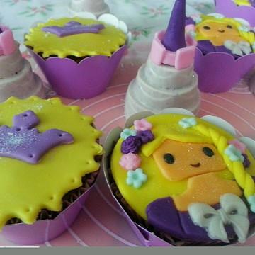 Festa Rapunzel (doces personalizados)