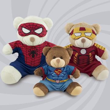 Trio De Ursinhos Super Heróis
