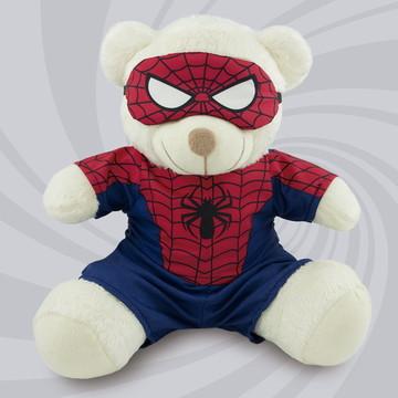 Urso de Pelúcia Super-Herói - 30cm