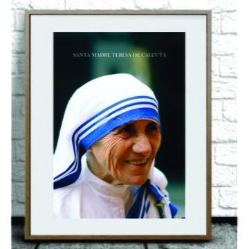 Poster Santa Madre Tereza de Calcutá