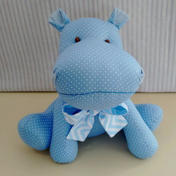 Hipopótamo de tecido