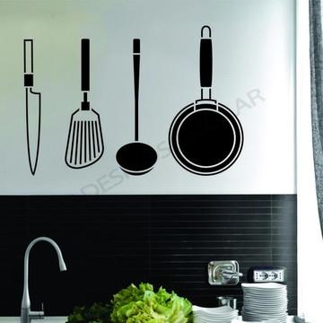 Adesivo - COZINHA - Kit Cozinha