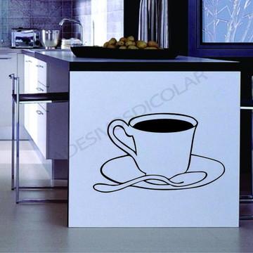 Adesivo - COZINHA - Cafezinho