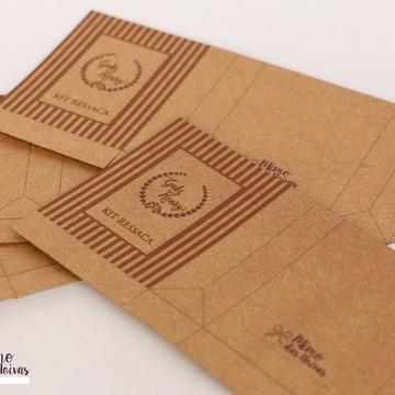 Embalagens p/ Kit Toilette Rústico - DIY