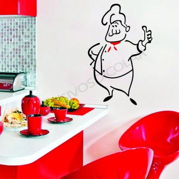 Adesivo - COZINHA - Chef de Cozinha