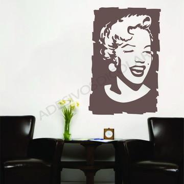 Adesivo - CELEBRIDADES - Marilyn Monroe