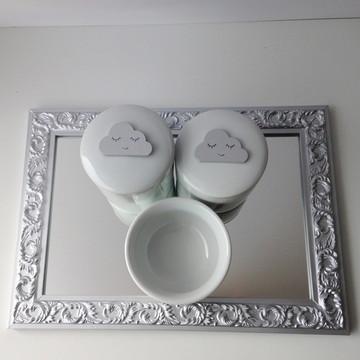 Kit Higiene Nuvem Prateada