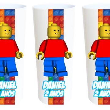 Lembrancinha Lego Copos