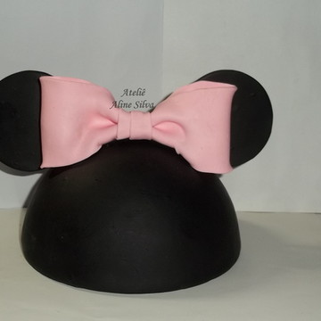 Topo de bolo Cabeça de minnie