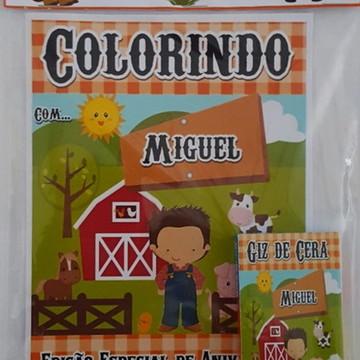 kit de colorir Fazedinha