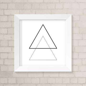 Quadro Escandinavo - Triângulos