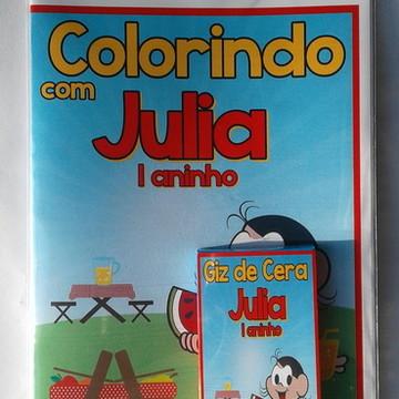 Kit Colorir com giz de cera