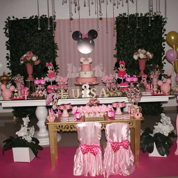 Decoração Minnie Rosa Luxo