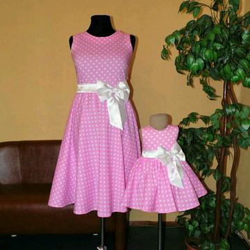 Vestido Minnie Mãe e Filha