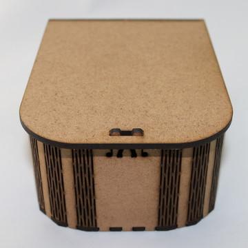CAIXA EM MDF - CURVE BOX MODELO KIT