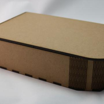 CAIXA EM MDF - CURVE BOX MOD RETANGULAR