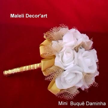 Mini buquê Daminha -Mod. Realeza