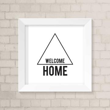 Quadro Casa - Welcome Home