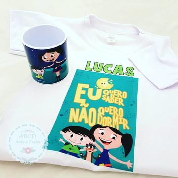 KIT CAMISA COM CANECA SHOW DA LUNA