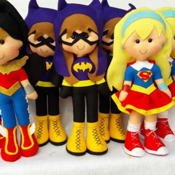centro de mesa super hero girls