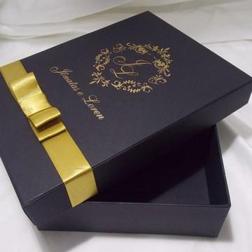 Caixa Box 15x20x5 Personalizada em Hot padrinhos Madrinhas D