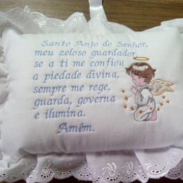 Almofada santo anjo do senhor