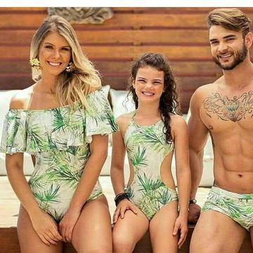 Kit Moda Praia Família