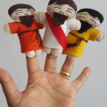 Personagens bíblicos (dedoche)