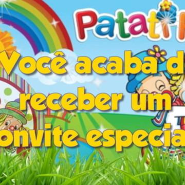 Convite animado Patati Patata