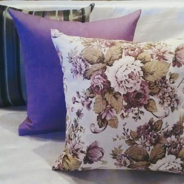 almofadas estampadas Decorativa 3 pçs