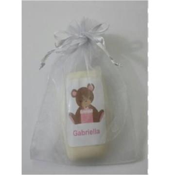 Sabonete Ursa Rosa Chá de Bebê Menina