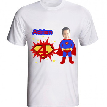 kit 3 Camiseta personalizada superman