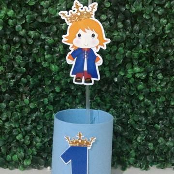 ENFEITE DE MESA pequeno príncipe