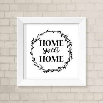 Quadro Casa - Sweet Home