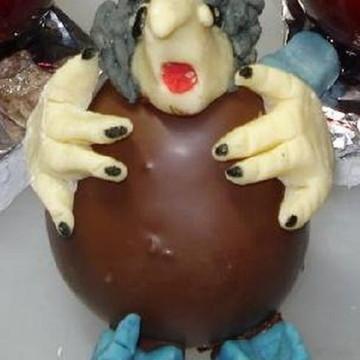 cupcake maças do amor halloween