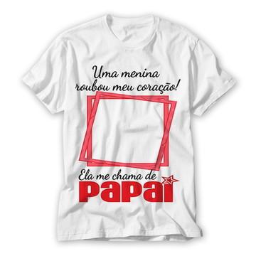 Camiseta Dia dos Pais Personalizada Foto