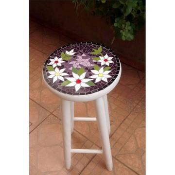 Banqueta lilás