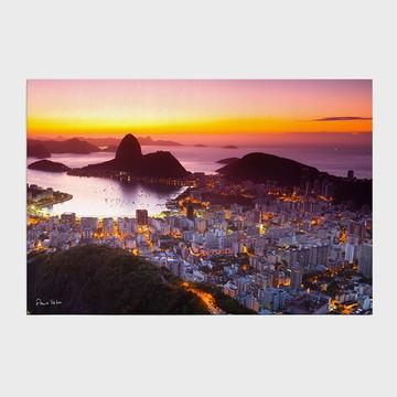 Painel Amanhecer no Rio de Janeiro com P