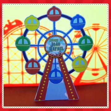Cone Roda Gigante Parque de Diversões