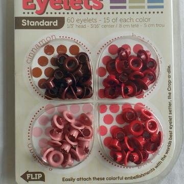 Red Eyelets Standard - Ilhós