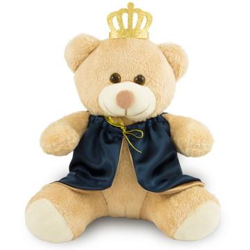 Urso de Pelúcia Realeza 30cm